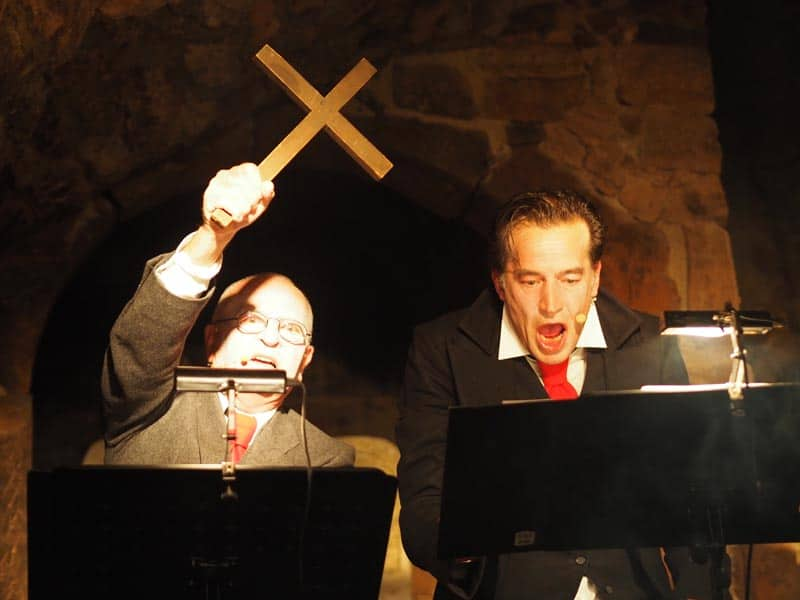 Dracula im Lomonossowkeller